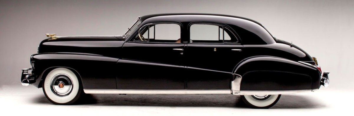 The 1941 Cadillac Duchess special sedan in restored condition.