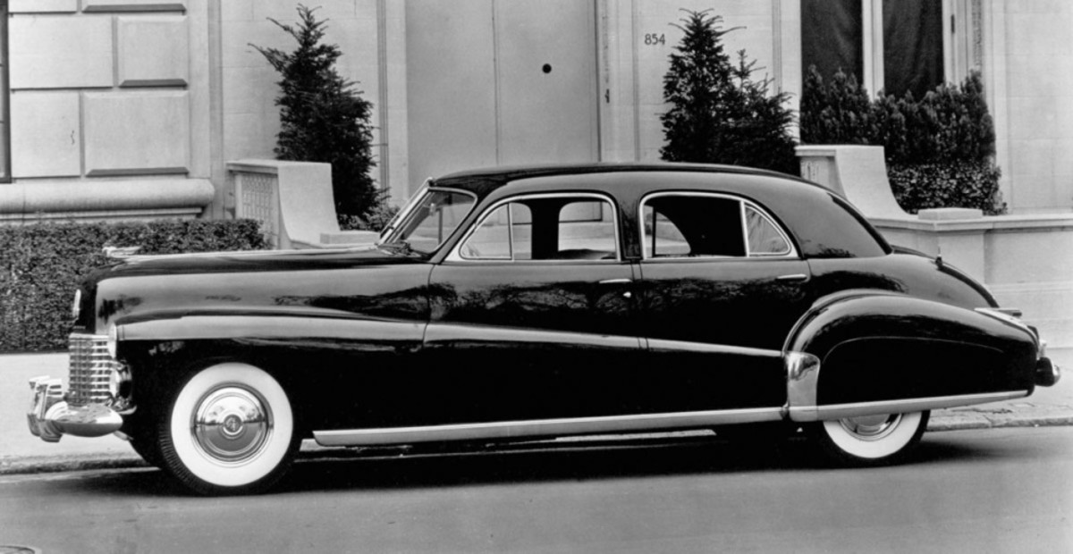 "In Cadillac circles, the 1941 Cadillac special sedan built for the Duke and Duchess of York and nicknamed ""Duchess"" is considered one of the most beautiful cars from a pinnacle year in Cadillac design."
