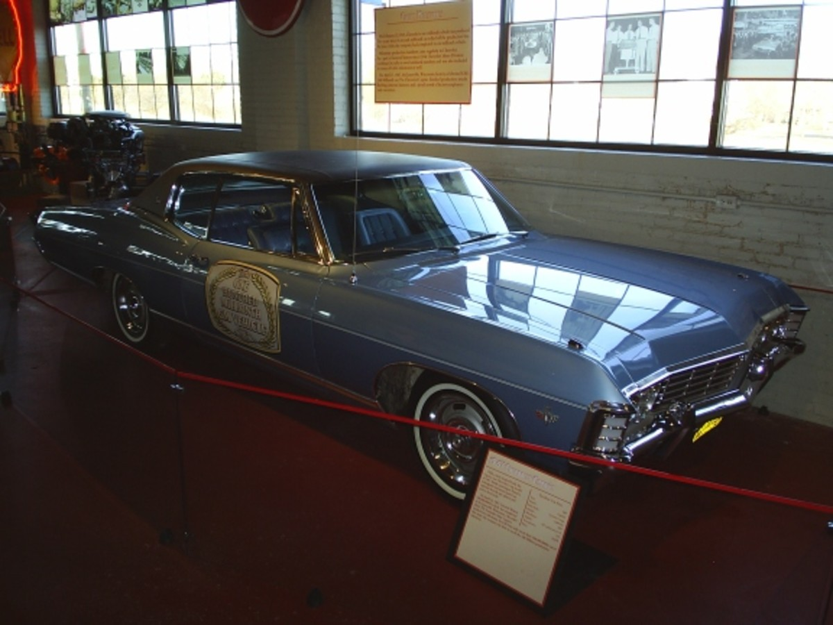 Old Cars Weekly readers will recall last year's feature story on this very special 1967 Chevrolet Caprice coupe, the 100 millionth GM car built. The car has been in a museum since shortly after it was built and is a very low-mileage original.