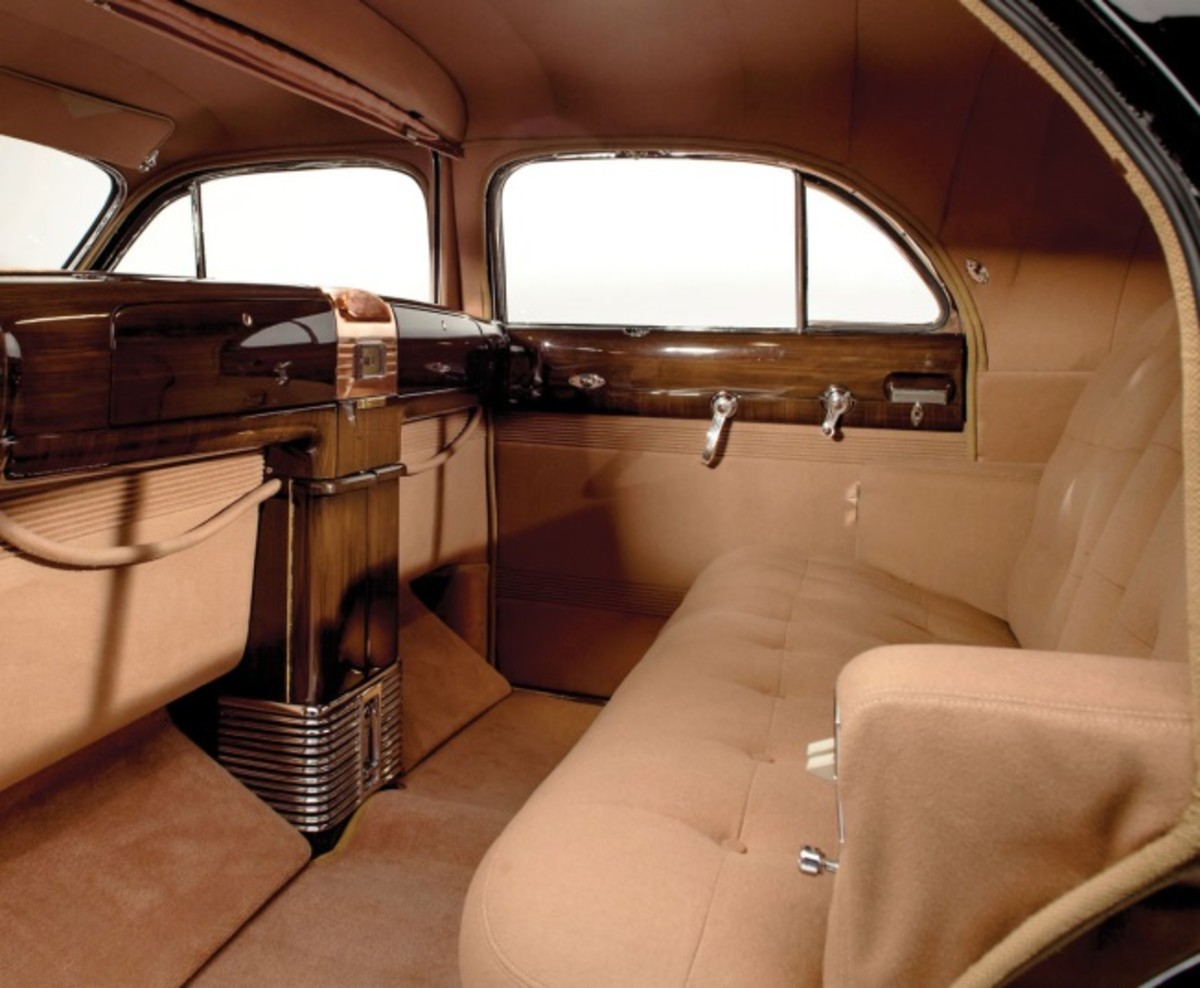 The interior of the Duchess is befitting a Cadillac and royalty.