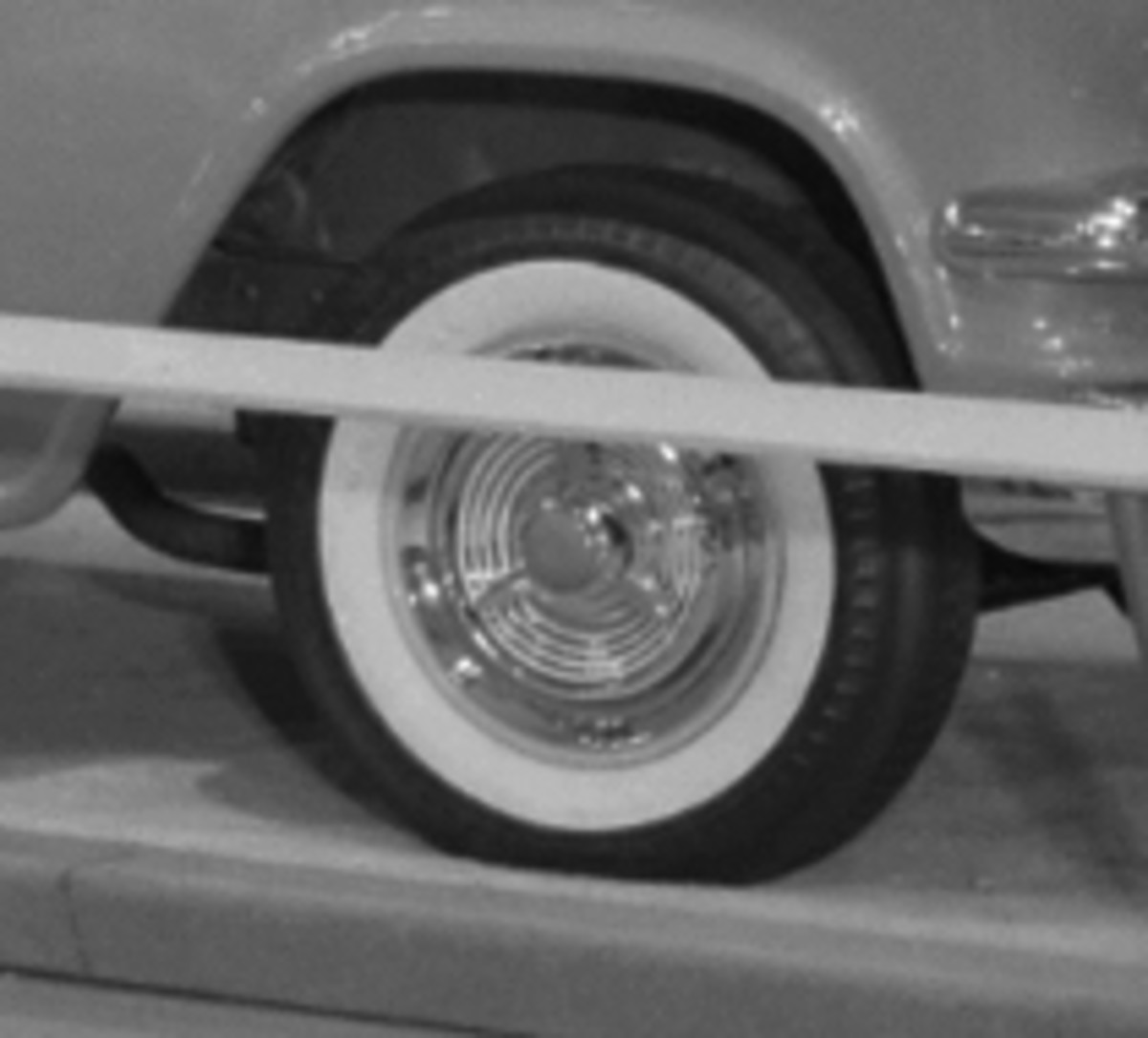 GMC didn't offer full wheel covers on its 1956 pickups, and this one on the Bluegrass Runabout looks as though it came from the 1955 Oldsmobile parts bin. (GM Media Archive collection)