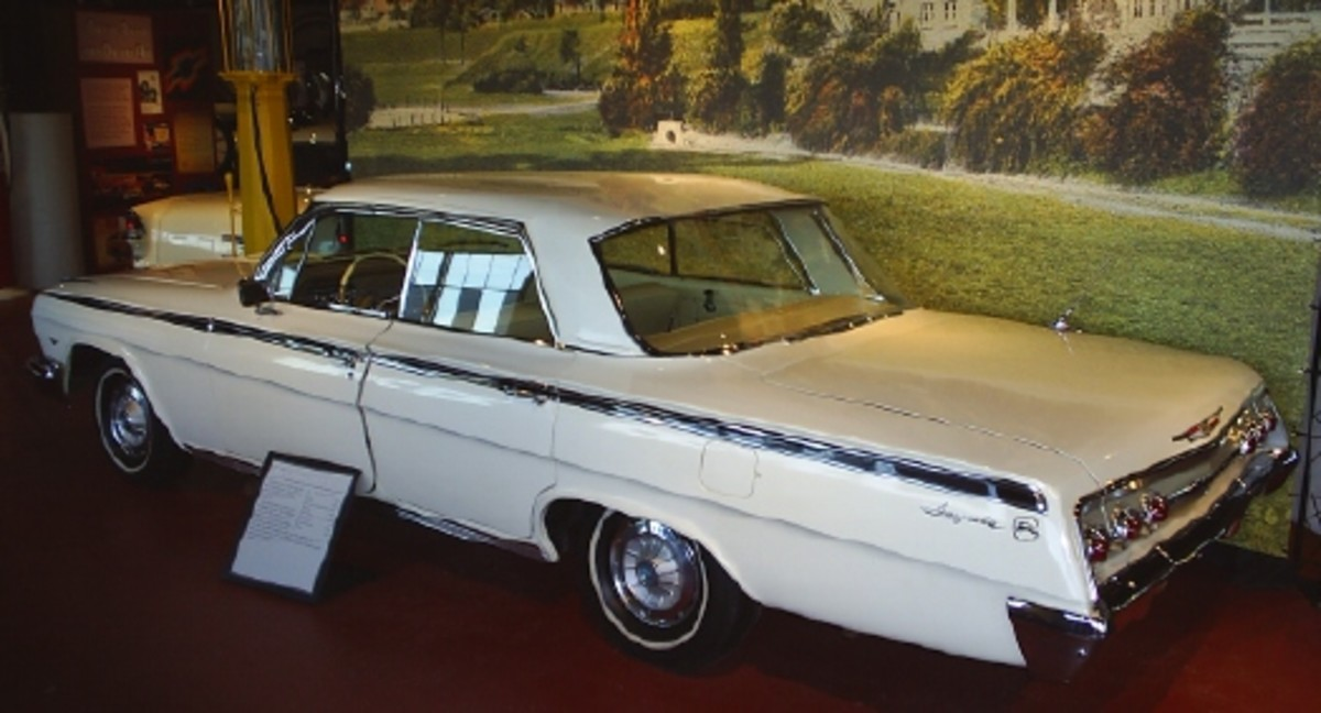The Sloan Museum's 1962 Chevrolet has been on display very few times in the last 39 years, according to Granger. Next summer, it will be at the Sloan Auto Fair's 40th anniversary event.