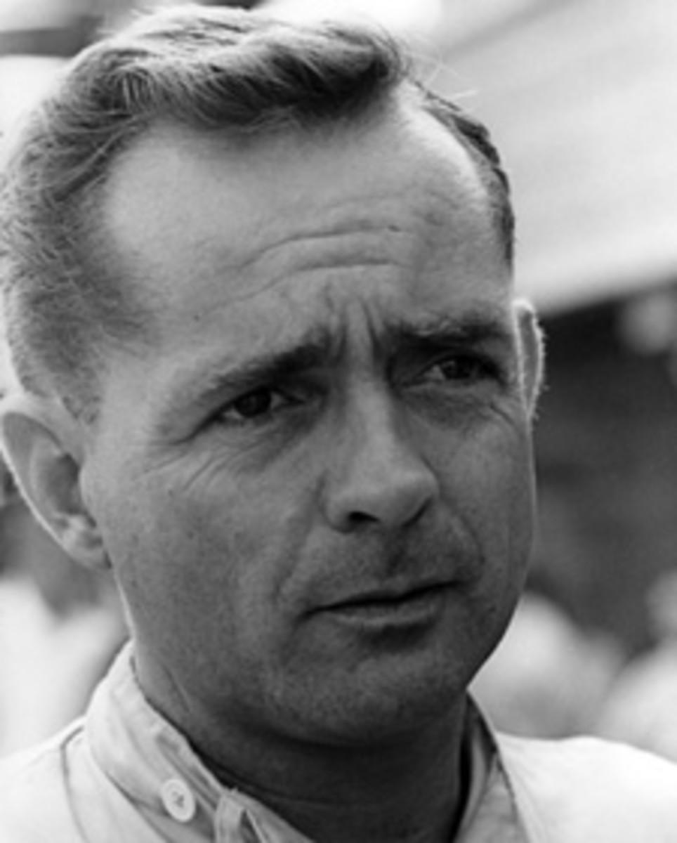 Phil Hill, Sebring, 1965. Credit: Petersen Automotive Museum Archives