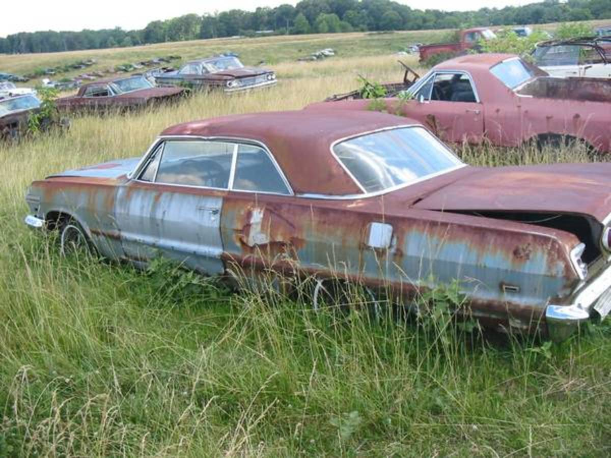 There are apparently several Chevrolets in the sale, including this 1963 Impala.