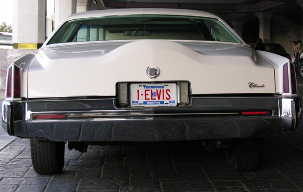 Elvis Cad- Rear shot