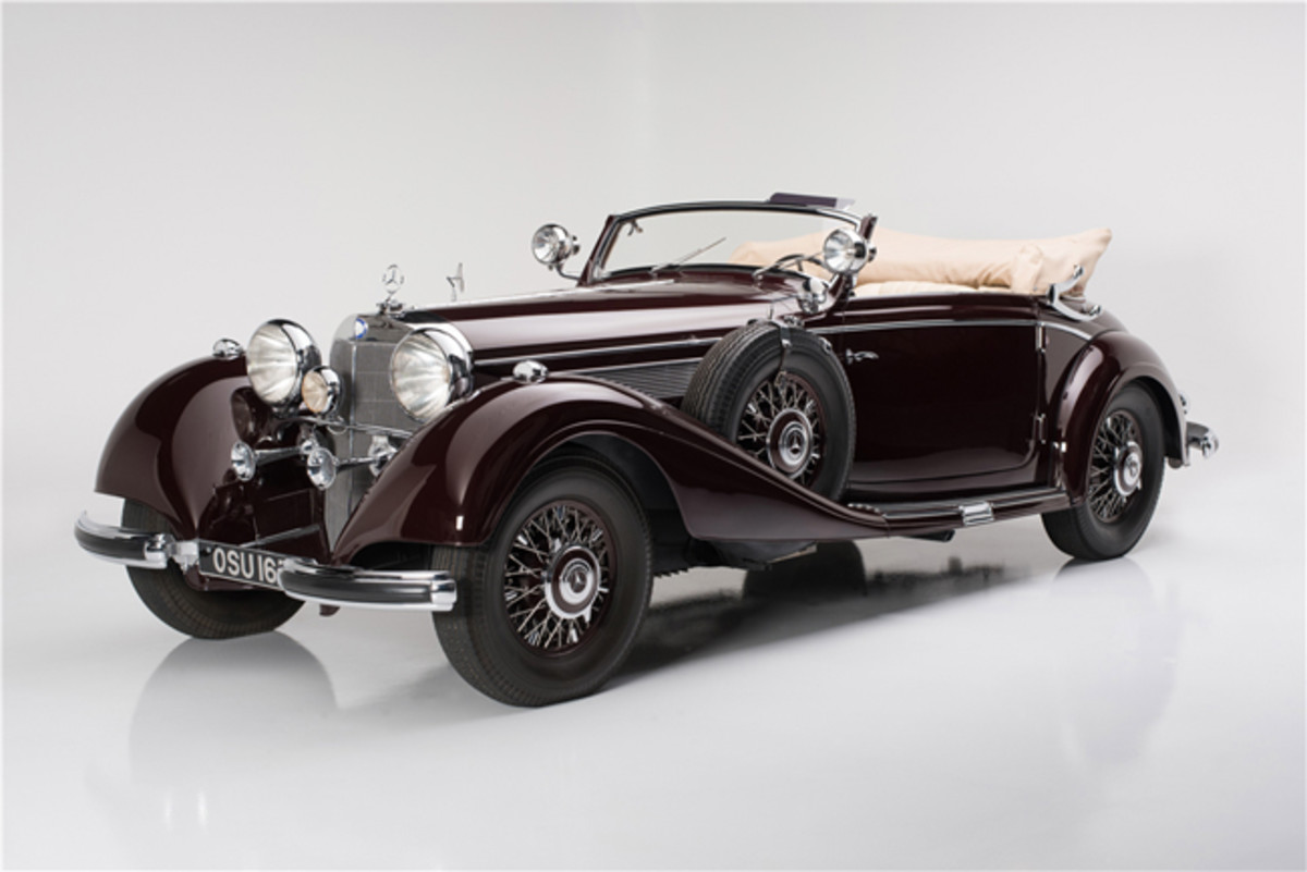 1939 Mercedes-Benz 540K Cabriolet