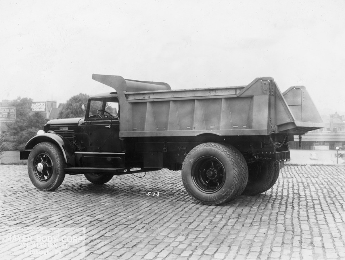 About 40 years after Autocar was established in 1897, and about 30 years after the company started building trucks in 1907, Mayer Body Corp. fitted a mammoth dump body to an equally large ca.-1937 Autocar chassis. The body builder didn't supply any information to accompany the image of the giant dump truck, but given its large size, you can bet this monstrous rig toiled under heavy loads the length of its life.