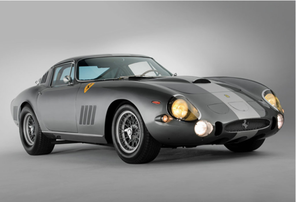 1964 Ferrari 275 GTB/C Speciale by Scaglietti sold for $26,400,000 at RM Auctions.