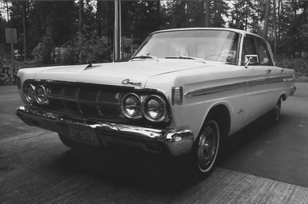 The 1964 Comet Caliente after its thorough restoration. It's now in better shape than when we bought it in 1970 as a daily driver.