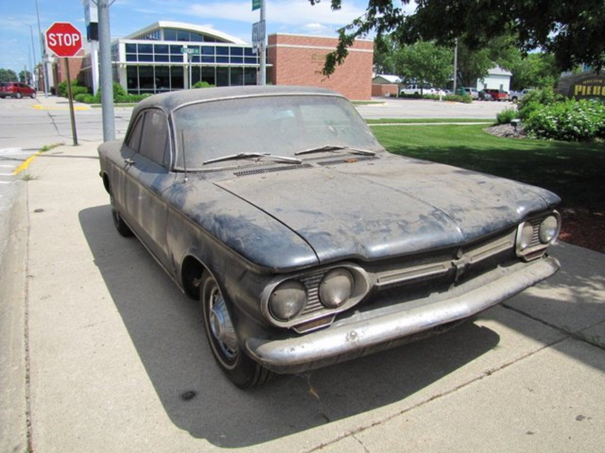 Another low-mileage Corvair coupe.