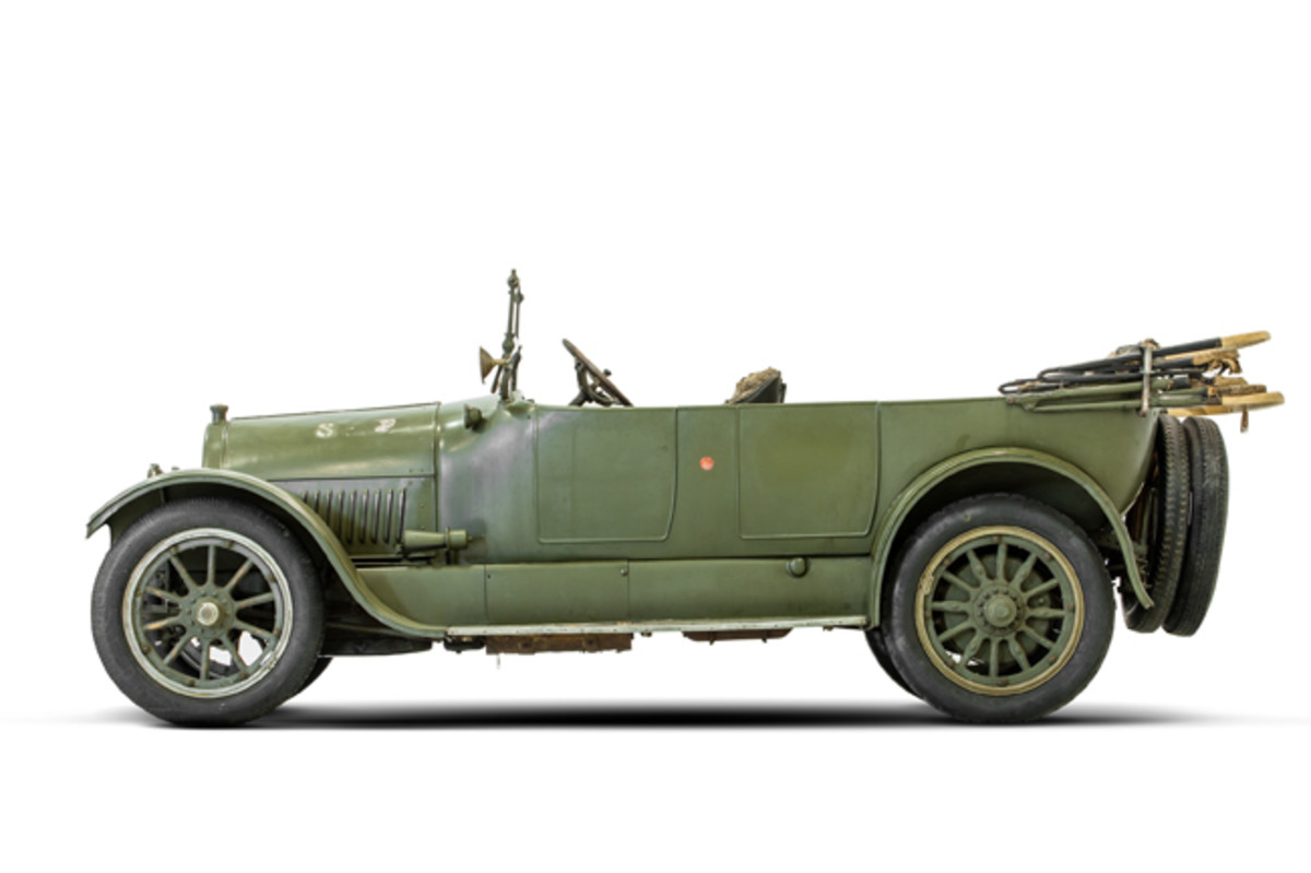 1918 Cadillac Type 57 (PRNewsfoto/Historic Vehicle Association)