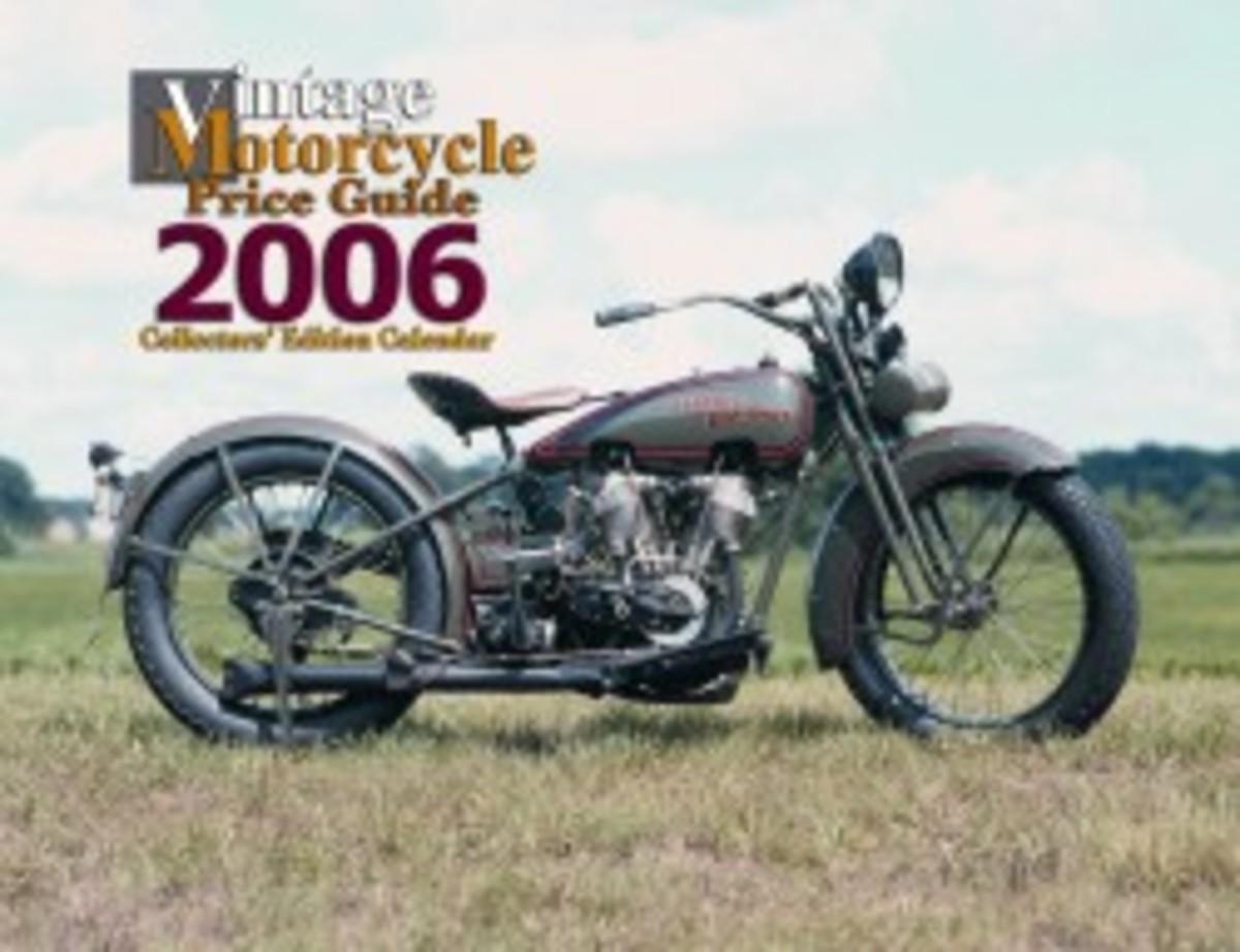 Vintage Motorcycle Price Guide 2006 calendar