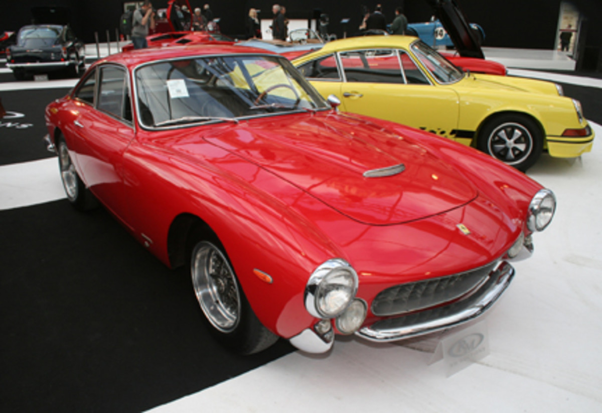 "1963 Ferrari 250 GT/L ""Lusso"" Berlinetta was RM's top seller, knocked down at $1,859,000."