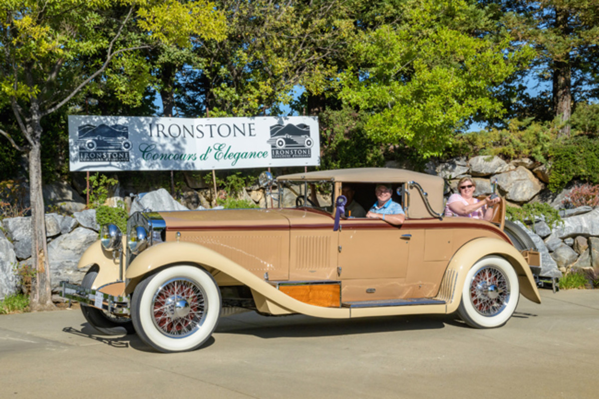 Best of Show went to this 1928 Isotta-Fraschini 8A cabriolet. (Ron Kimball Studios image)