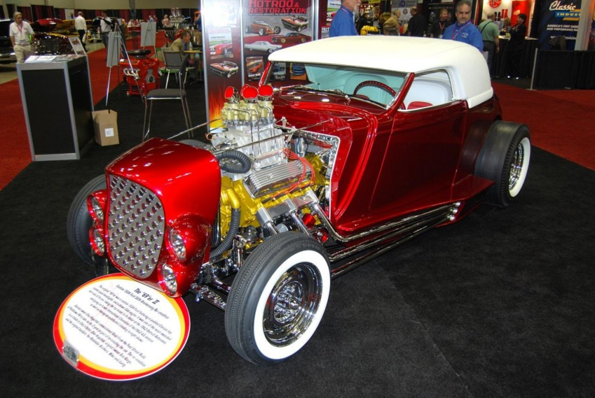 A best-of-the-best display of top notch show vehicles is part of the event.