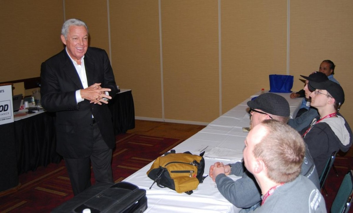 Barry Meguiar was a hit in his seminar at the 2013 Hot Rod & Restoration Show.