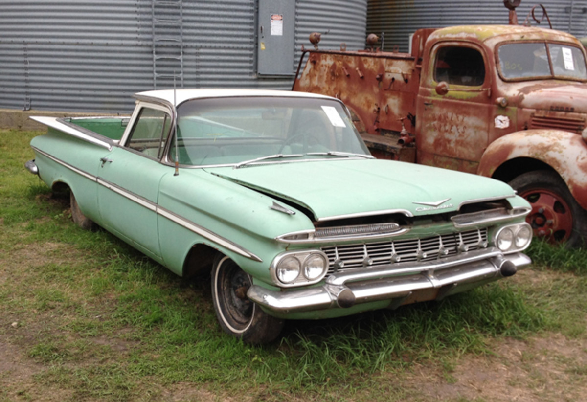 This no. 4 condition 1959 Chevrolet El Camino brought home an impressive $31,000.