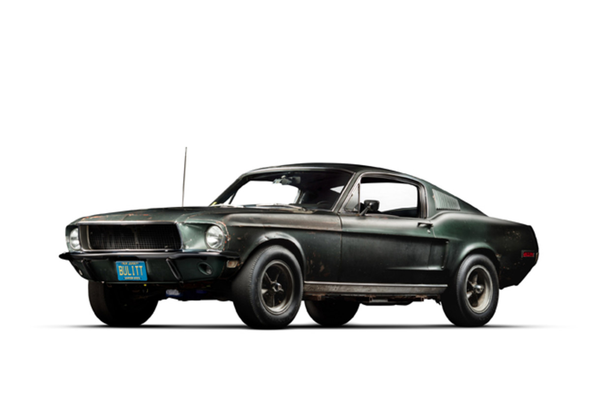 1968 Ford Mustang fastback Bullitt (PRNewsfoto/Historic Vehicle Association)