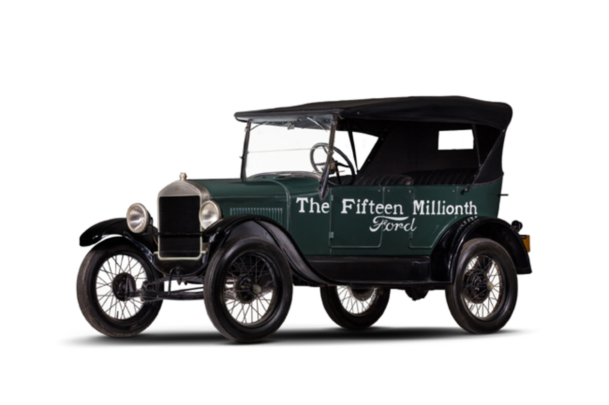 1927 Ford Model T Fifteen Millionth Ford (PRNewsfoto/Historic Vehicle Association)