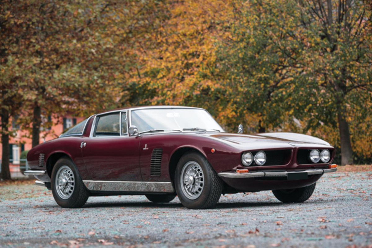 1967 Iso Grifo Series I (Credit - Cymon Taylor © 2019 Courtesy of RM Sotheby's)