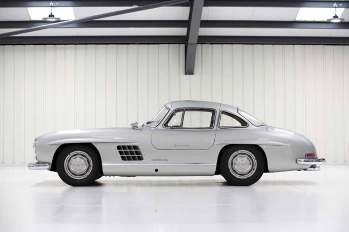 1954 Mercedes-Benz 300 SL Gullwing (Credit - Tom Gidden © 2019 Courtesy of RM Sotheby's)