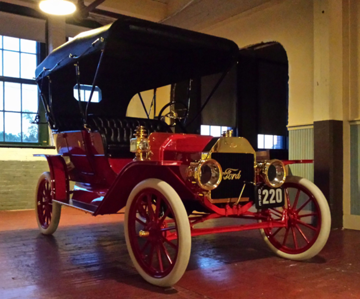 Ford Model T number 220 on display at Ford Piquette Plant Museum Photo: Sara Schultz