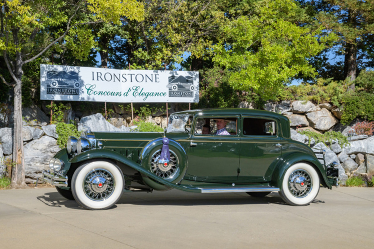 The Most Elegant Closed Car award went to this 1931 Packard Dietrich Sport Sedan. (Ron Kimball Studios image)