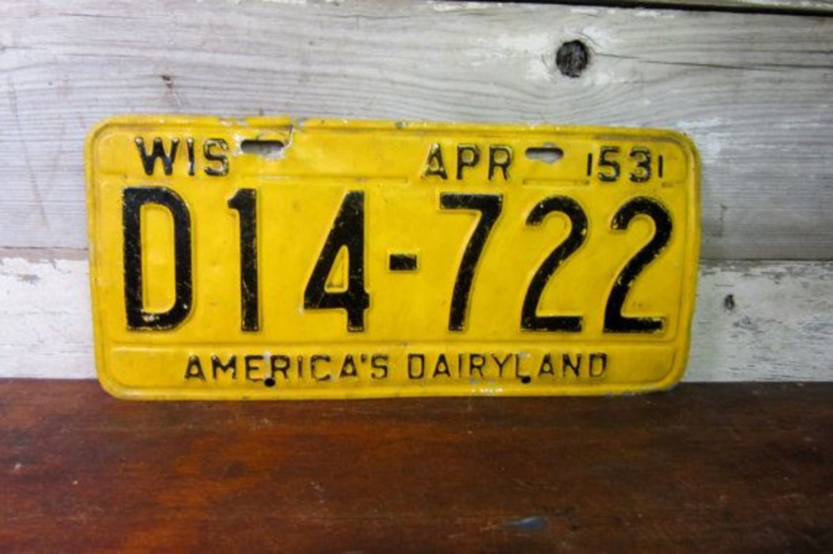 If a bill were to pass, Wisconsin collector car owners could display 1985-and-older year-of-manufacture license plates.