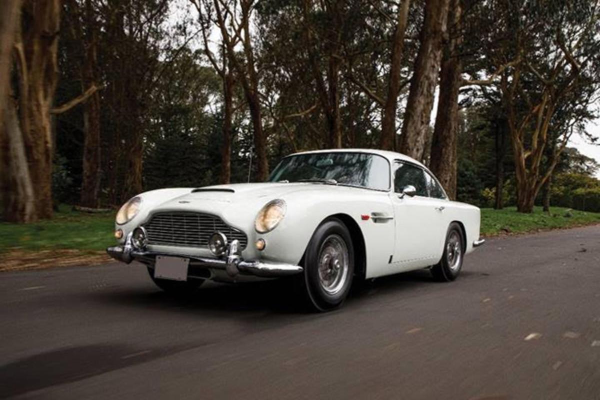 1964 Aston Martin DB5 (Credit – David Bush © 2019 Courtesy of RM Sotheby's)