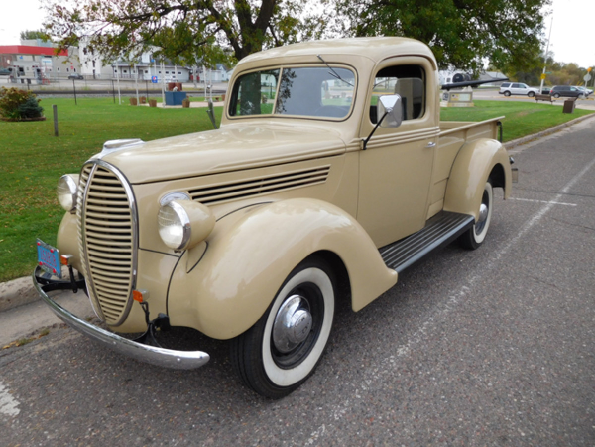 39 Ford pickup in Stanley