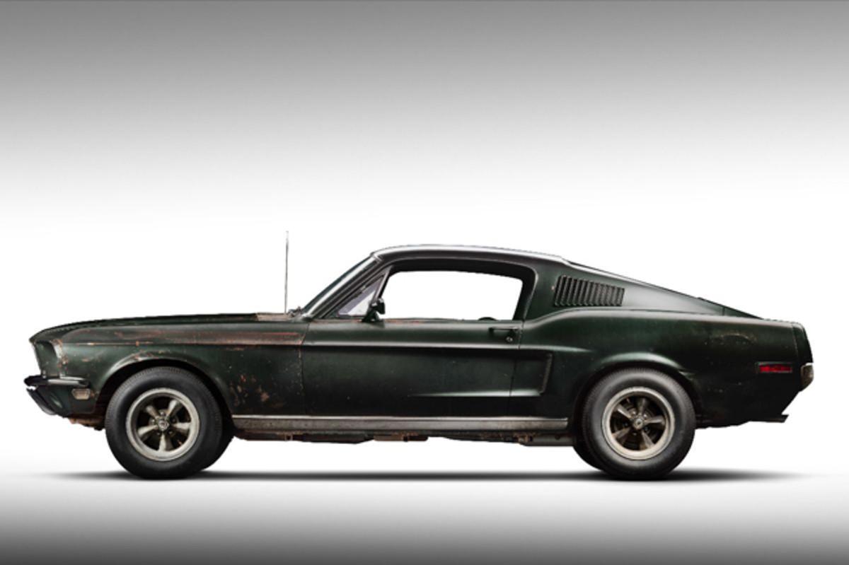 Original 1968 Mustang '559 from the Movie Bullitt Photo Courtesy of Historic Vehicle Association