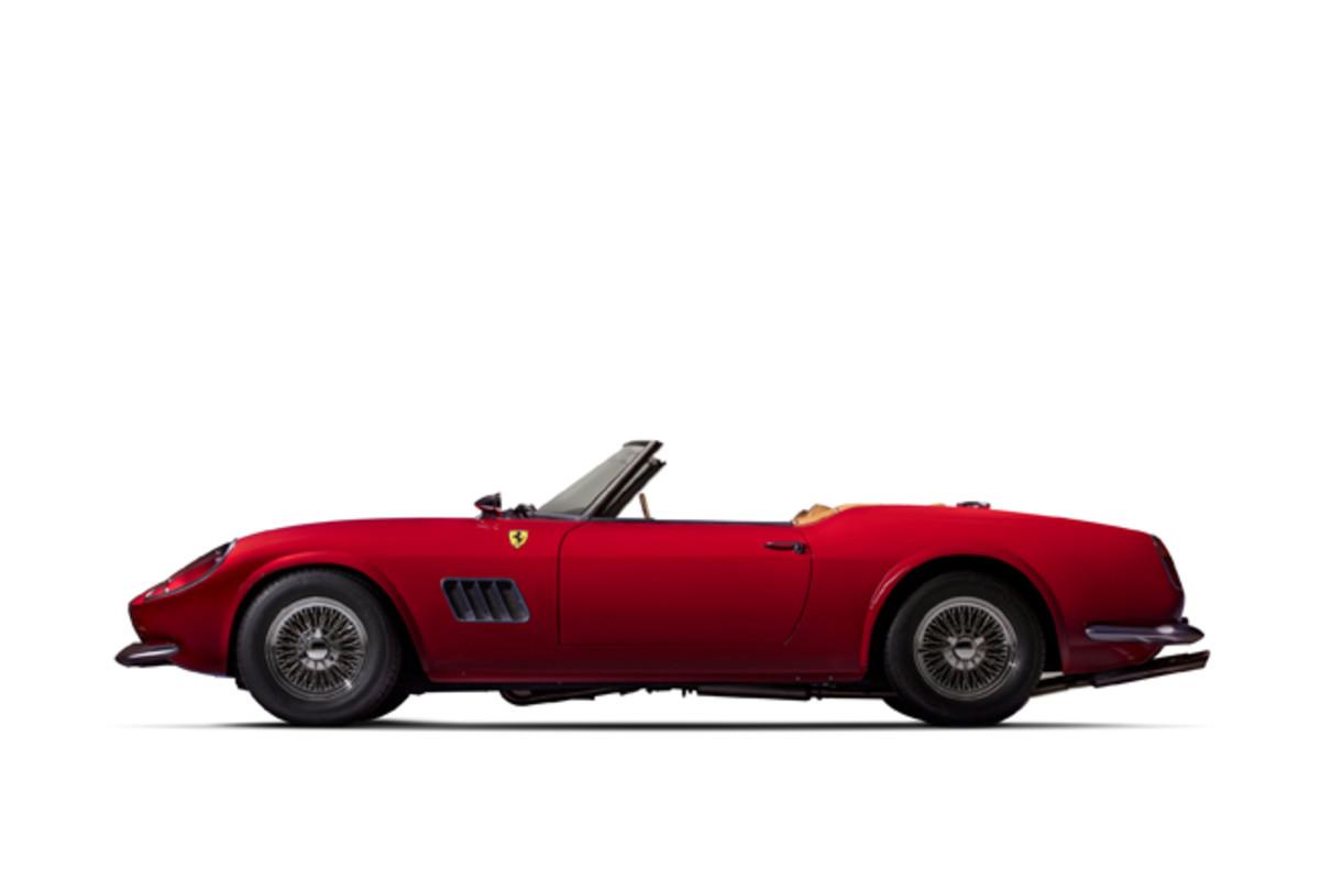 1985 Modena Spyder California HVA (PRNewsfoto/Historic Vehicle Association)