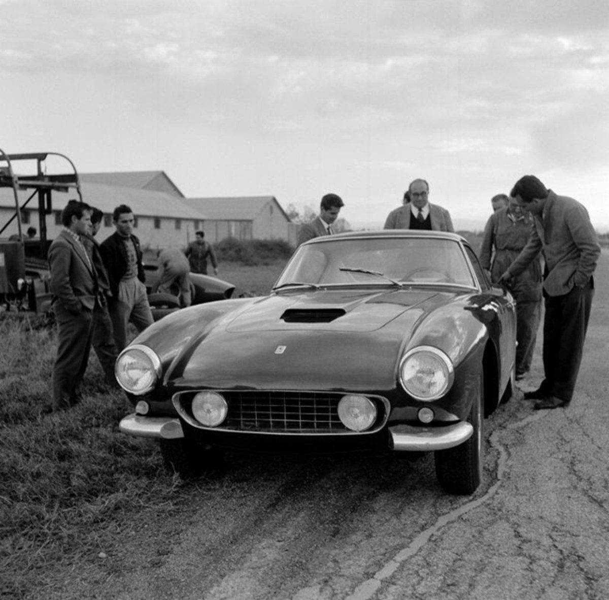 The 250 GT SWB berlinetta protoype. Photo courtesy of The Klemantaski Collection