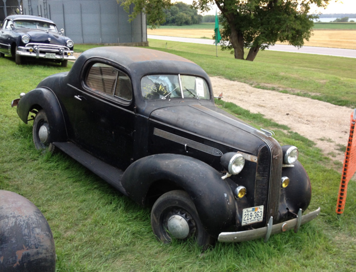 This 1936 Pontiac Deluxe with a 6-cyl. went for $8,200.