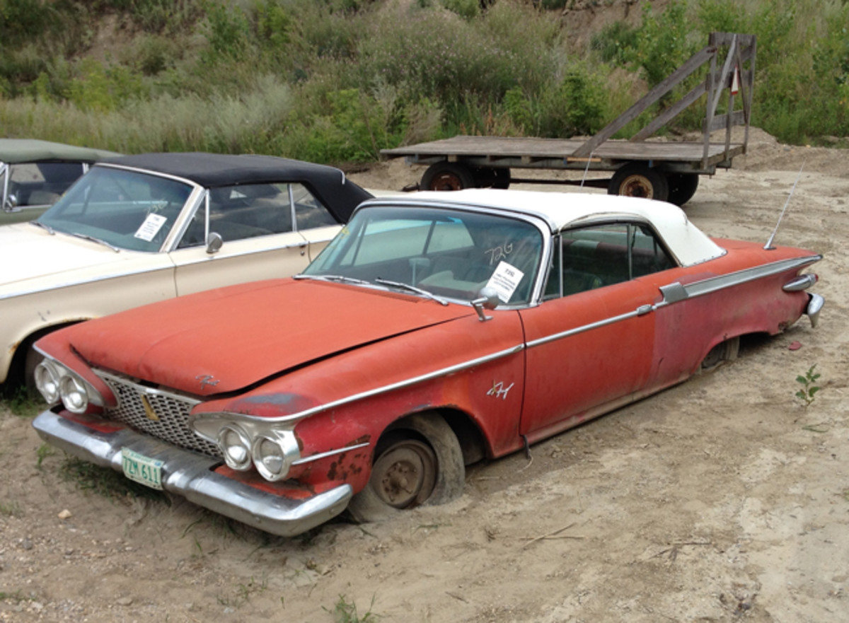 This 1961 Plymouth Fury was in rough condition, but considering it was 1 of 6,948 built, it is a good starting point for $2,100.
