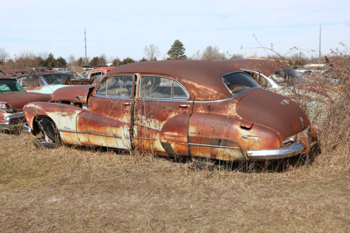 This Super represented the mid-price line for Buick in 1948.