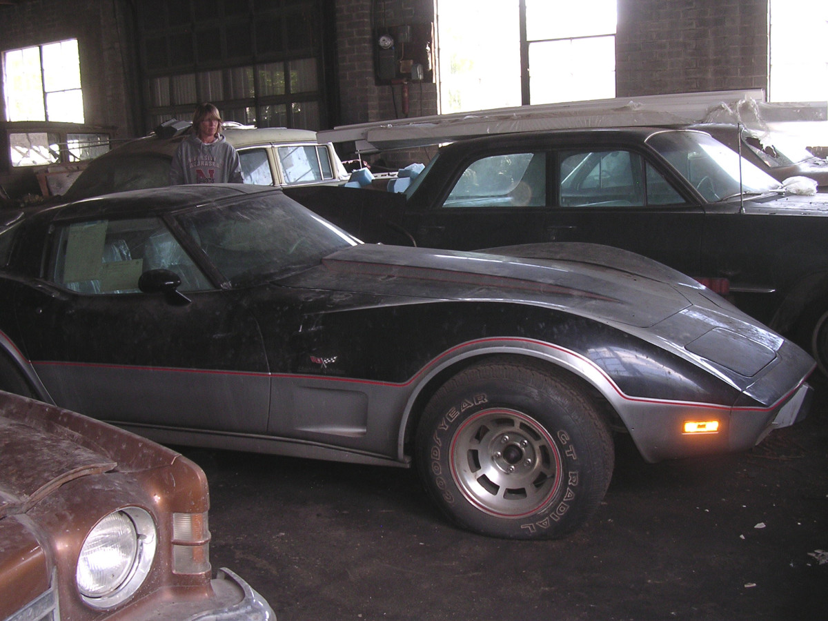 A 1978 Chevrolet Corvette Pace Car with less than 5 miles will be part of the Lambrecht Collection sale.