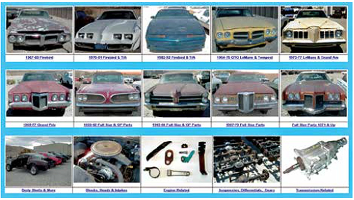 """Well sorted, cataloged and web site displayed (as well as other social media exposure) Frank's Pontiac Parts may best exemplify the """"new way"""" for salvage yards to operate."""