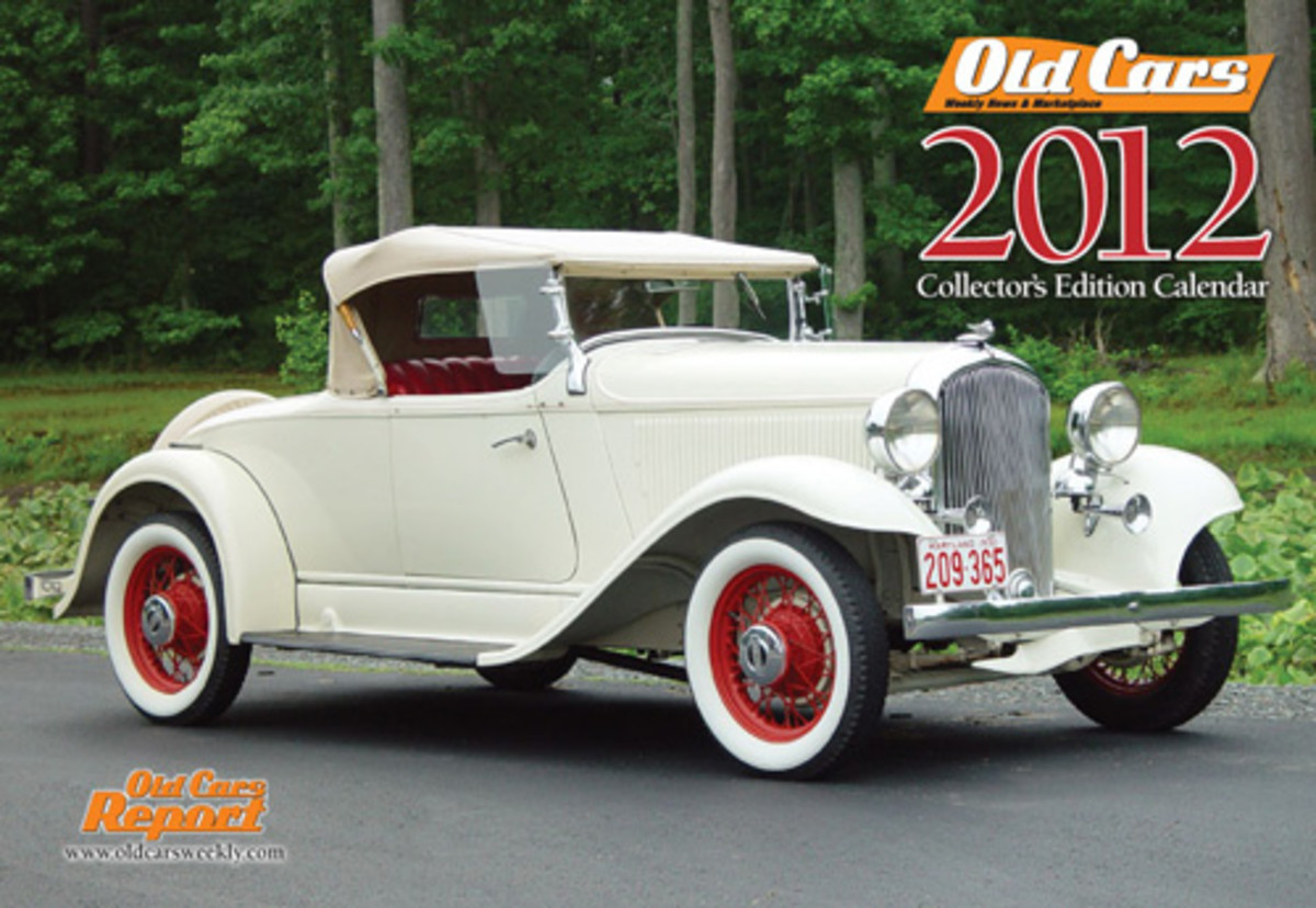 As has been the case for the past 17 years, including the 2012 version, Old Cars Weekly is inviting its readers to have their collector vehicles try out for the Old Cars 2012 Collectors' Edition calendar. Deadline to submit images is April 1, 2012.