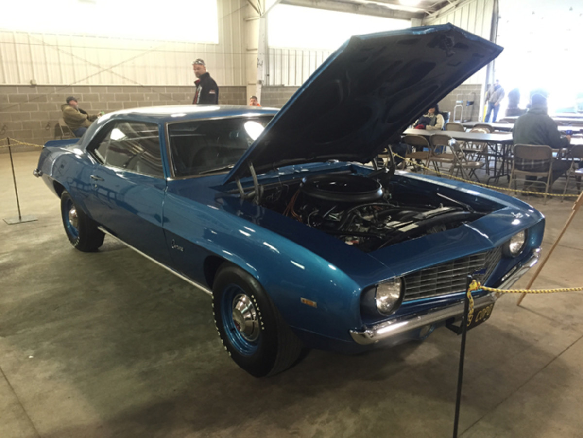 An original COPO 1969 Camaro ZL1 with a 427 cid V-8 was on display during Spring Jefferson in one of the many buildings on the grounds of the Jefferson County Fairgrounds.