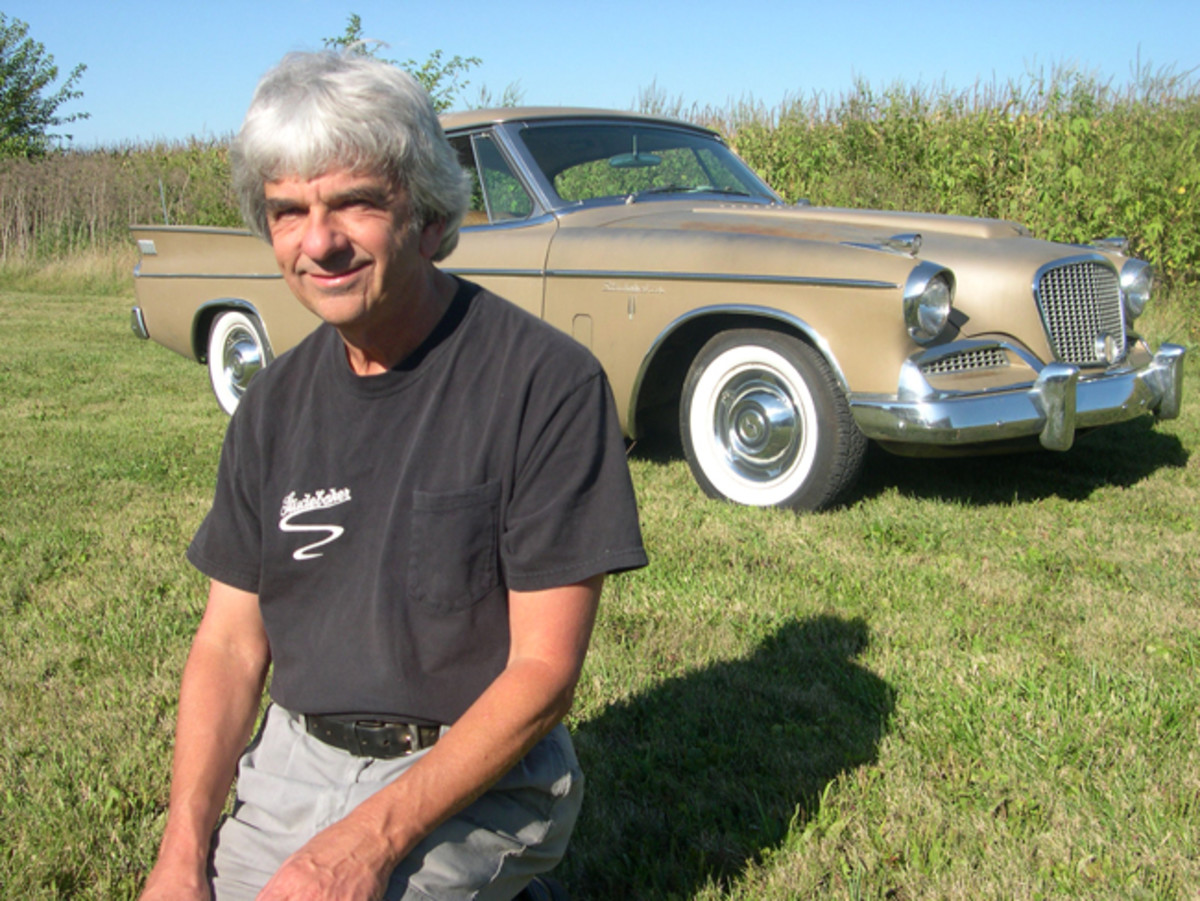 Ed Reynolds, of Greenfield, Ind., finally got his hands on his dream car a year ago when he bought an original 1958 Studebaker Golden Hawk.