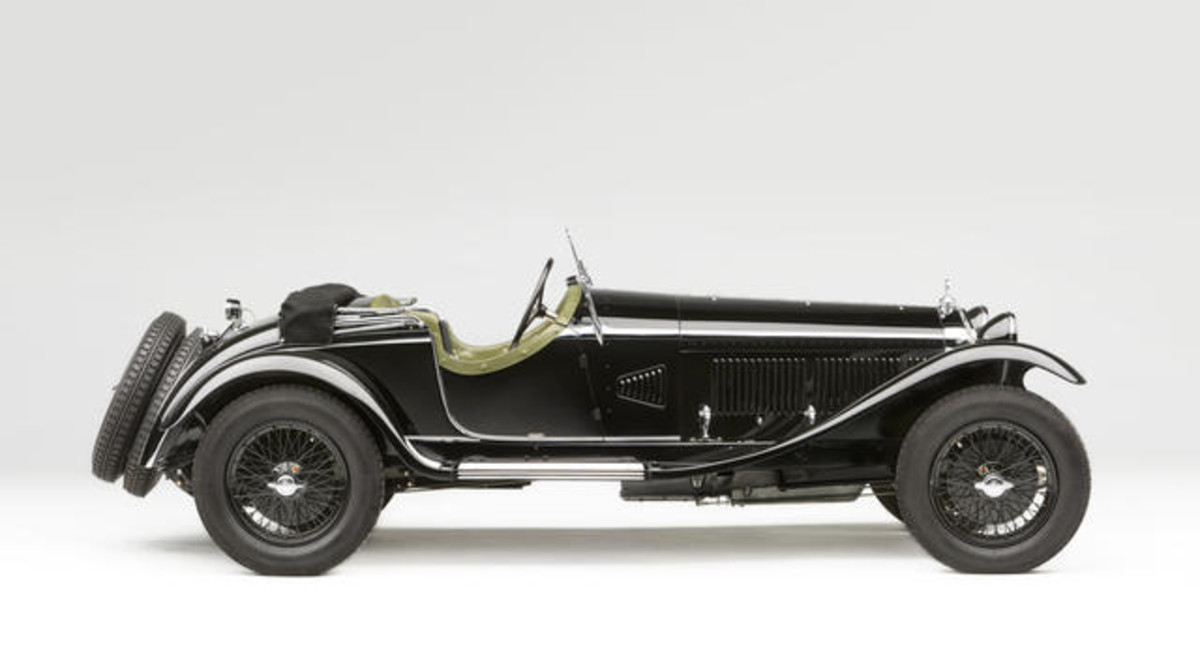 Lot 130: 1931 Alfa Romeo 6C 1750 Supercharged Gran Sport Spider. Coachwork by Zagato. Sold for US$ 3,080,000 inc. premium.