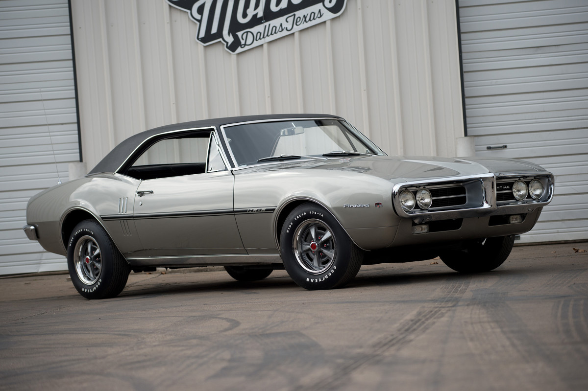 The second Firebird ever built was this 1967 HO coupe with a four-speed.
