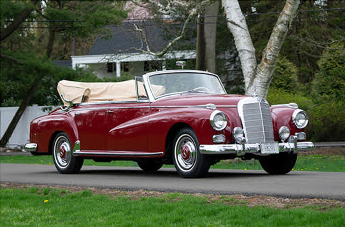 1958 Mercedes-Benz 300D Cabriolet D. Photo - Bonhams