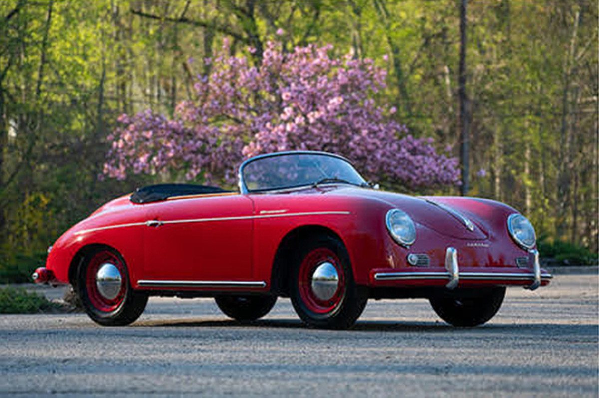 1957 Porsche 356A 1600 Speedster. Photo - Bonhams