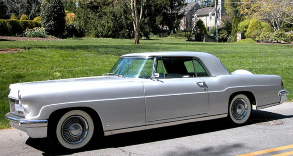 Lincoln priced the '56 Continental the same as a Rolls-Royce.