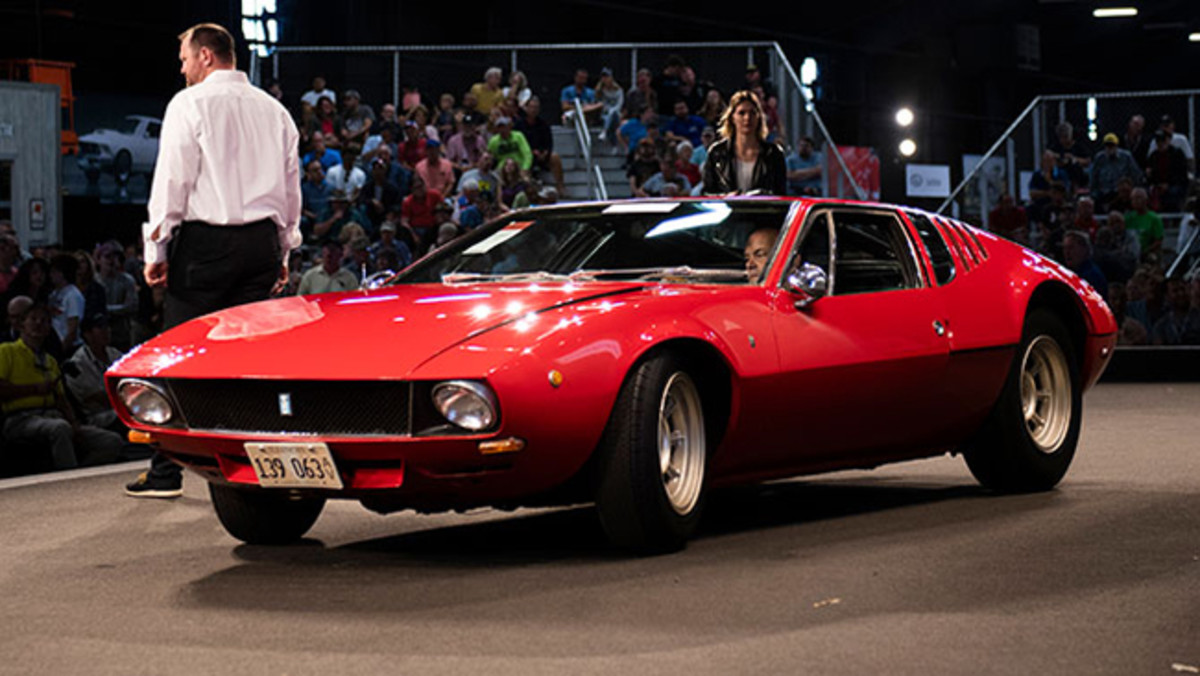 1970 De Tomaso Mangusta by Ghia sold for $214,500. Photo - RM Auctions