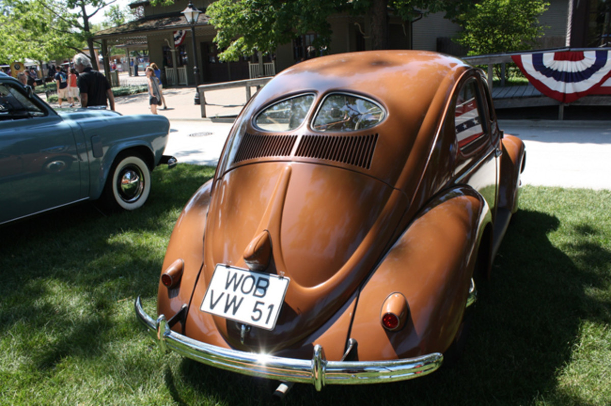 1951 Volkswagon, owned by Craig Elam of Centerline