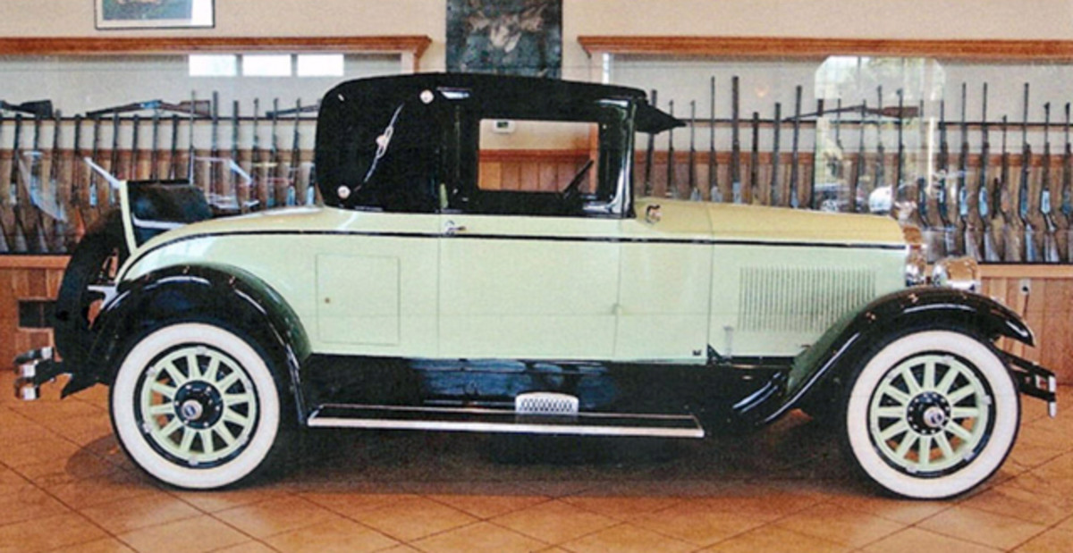 This 1927 Buick Country Club Coupe comes from Grant Miller.