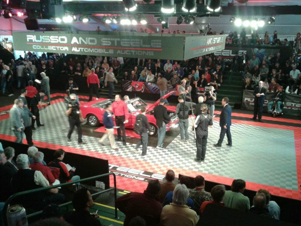 1965 Mustang GT sold for $35,500.